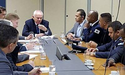 Agenda estratégia SENASP - Secretaria Nacional bom de Segurança Pública
