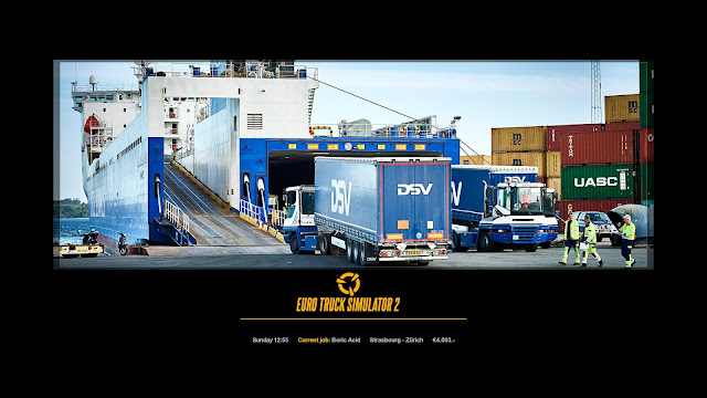 ets 2 new photo loading screens 3, ferry