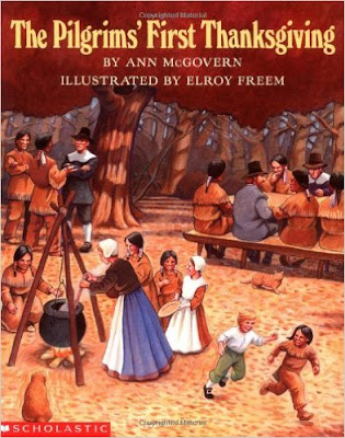 https://www.amazon.com/Pilgrims-First-Thanksgiving-Ann-Mcgovern/dp/0590461885/ref=sr_1_4?s=books&ie=UTF8&qid=1469586510&sr=1-4&keywords=the+first+thanksgiving#reader_0590461885