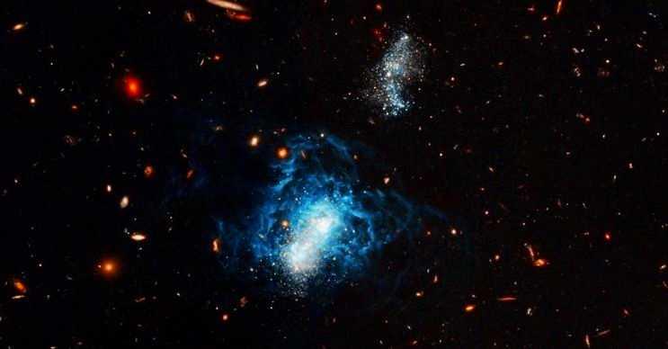 Fosil Galaksi ya da bilinen diğer adıyla Dgsat 1 Galaksisi sanılanın aksine oldukça büyüktür.