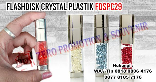 USB Crystal, Flashdisk Kristal, FLASHDISK USB CRYSTAL 2 - FDSPC29, Usb Crystal Plastik FDSPC29