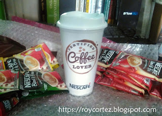 Nescafe To Go Tumbler Certified Coffee Lover Design
