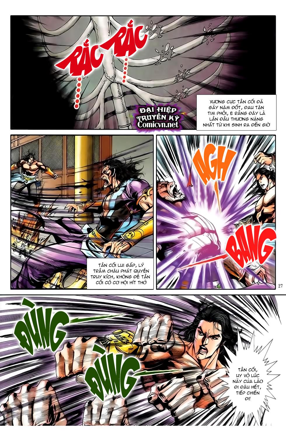 Đại Hiệp Truyền Kỳ (Thần Châu Hậu Truyện) chap 51 - Trang 24