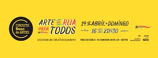Prefeitura traz Circuito Sesc de Arte para Cajati