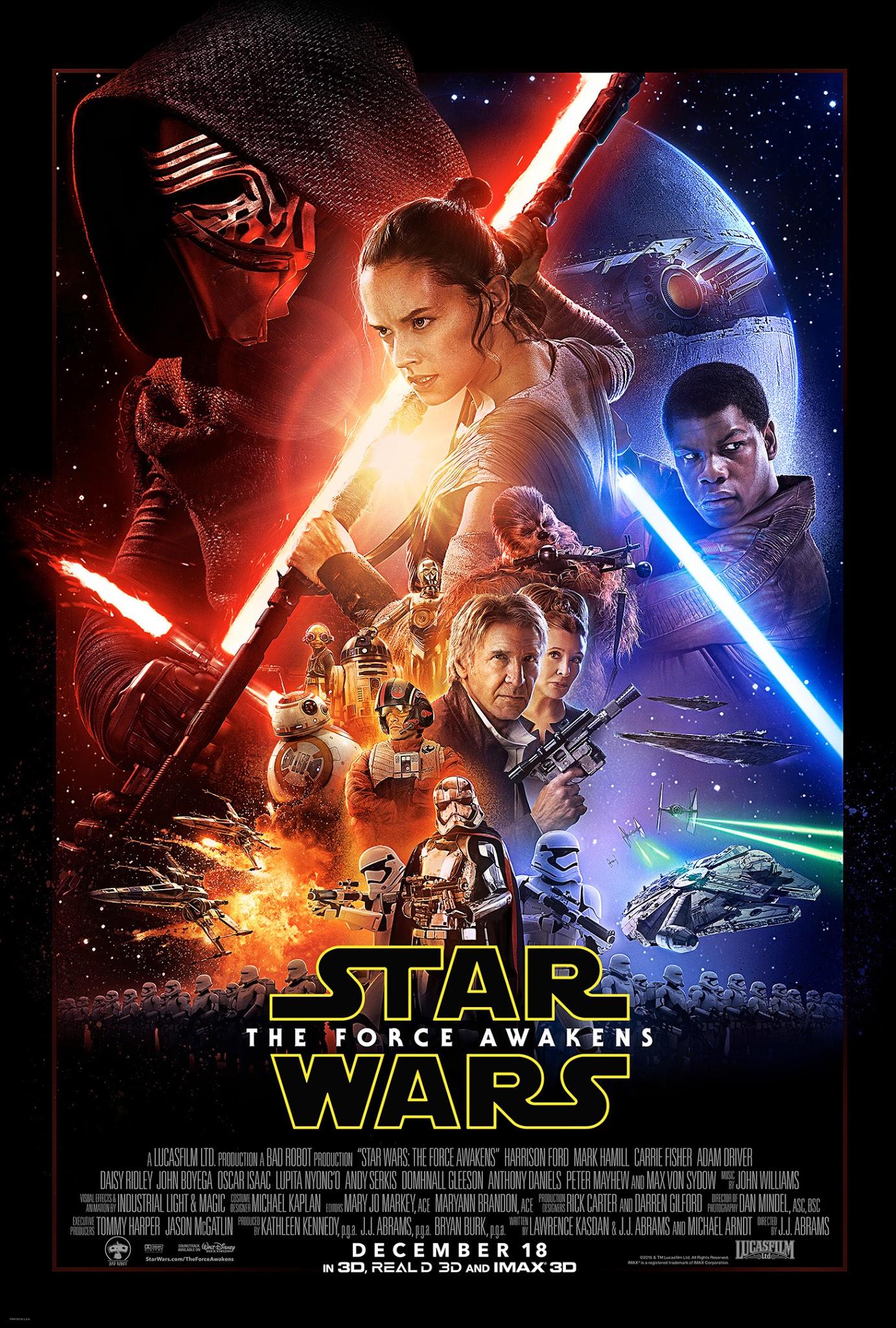 gwiezdne wojny przebudzenie mocy film recenzja plakat j.j. abrams
