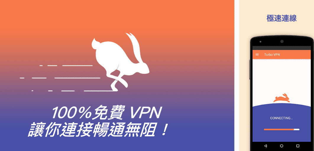 Turbo VPN 無限流量多國伺服器