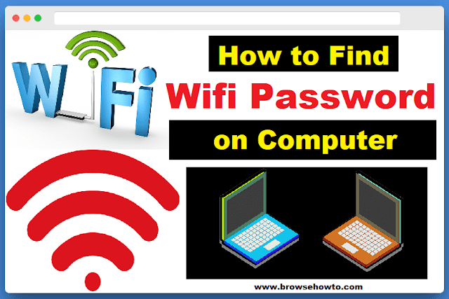 How to find Wifi Password on Computer in Hindi