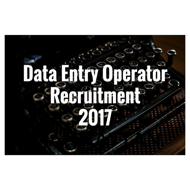 Data Entry Operator Jobs in DC Office Nalbari, July 2017