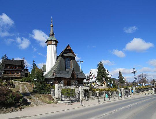 Sanktuarium Matki Bożej Fatimskiej na Krzeptówkach.