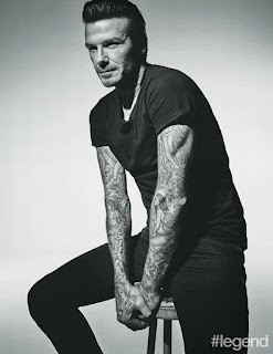 David Beckham sexy photo shoot