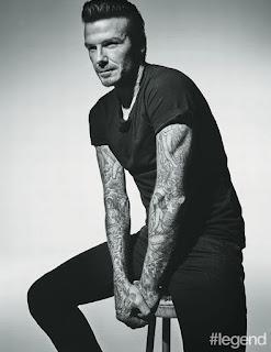 David Beckham sexy photo shoot