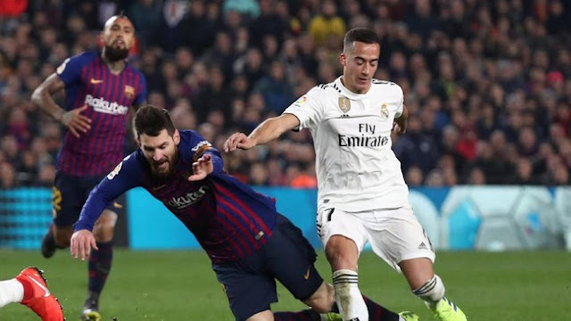 Hasil Copa del Rey: Barcelona Diimbangi Real Madrid 1-1