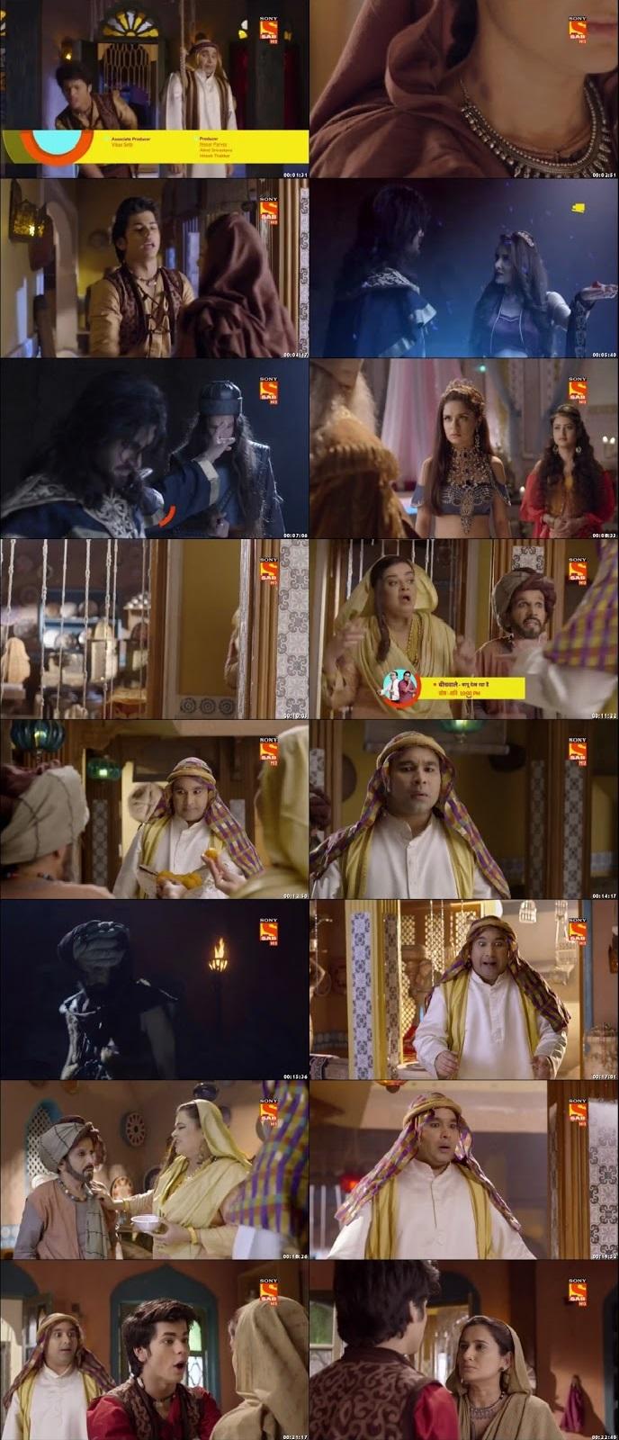 Screenshots Of Hindi Show Aladdin – Naam Toh Suna Hoga 2018 Episode 49 300MB 720P HD