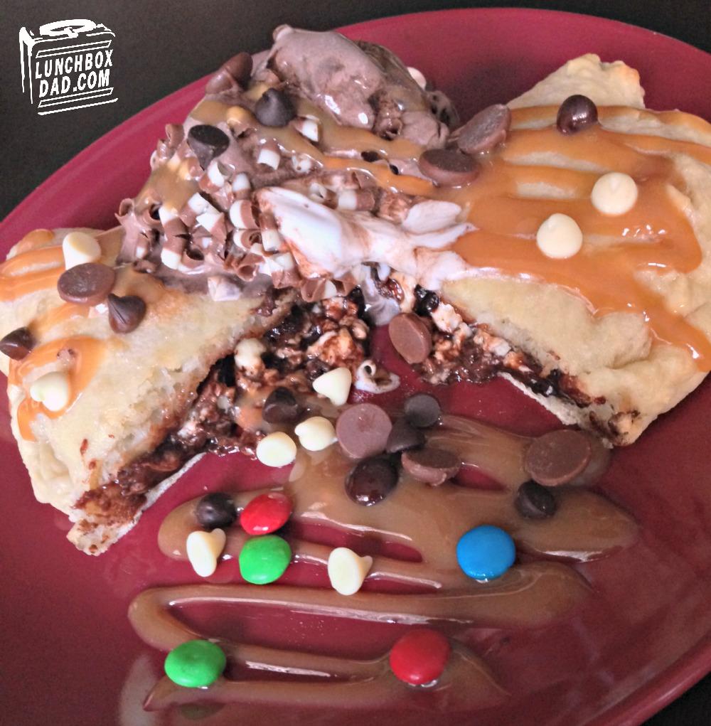 Chocolate Calzone featuring Philly Cream Cheese #saycheeseburger #shop