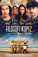 tetapkan untuk menjual kedai mereka dan berkeliling Indonesia demi membagikan  Download Film Filosofi Kopi The Movie 2: Ben And Jody (2017) WEB-DL