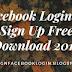 Facebook Login Or Sign Up Free Download 2016