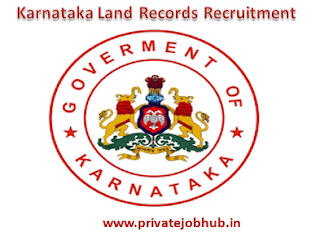 Karnataka Land Records Recruitment