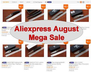 Aliexpress August Mega Sale
