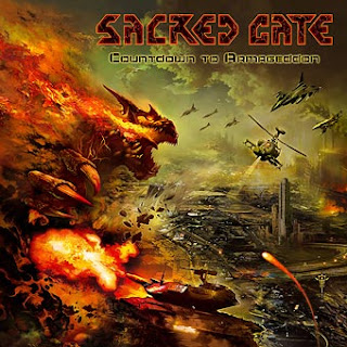 "Το τραγούδι των Sacred Gate ""The Oath of the Damned"" από τον δίσκο ""Countdown to Armageddon"""