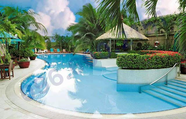 Bể bơi tại căn hộ chung cư Garden Hill