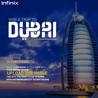 Here's how to win a trip to Dubai via Infinix Mobile