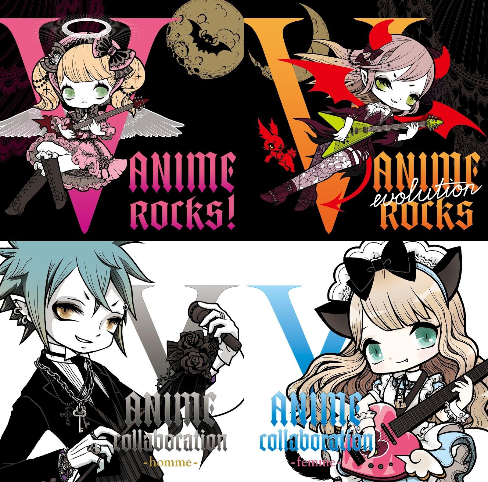 V Anime Rocks