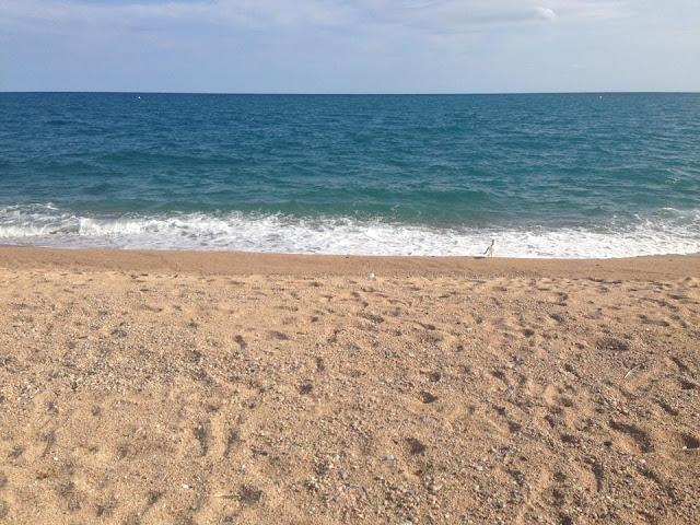 THE BEACH AT PINEDA DE MAR
