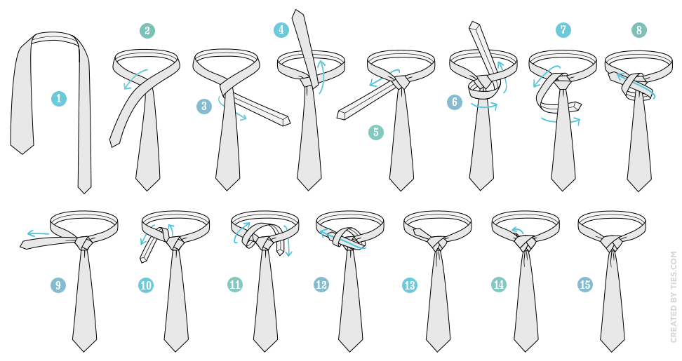 ich hab da mal was ausprobiert ungew hnliche krawattenknoten binden. Black Bedroom Furniture Sets. Home Design Ideas