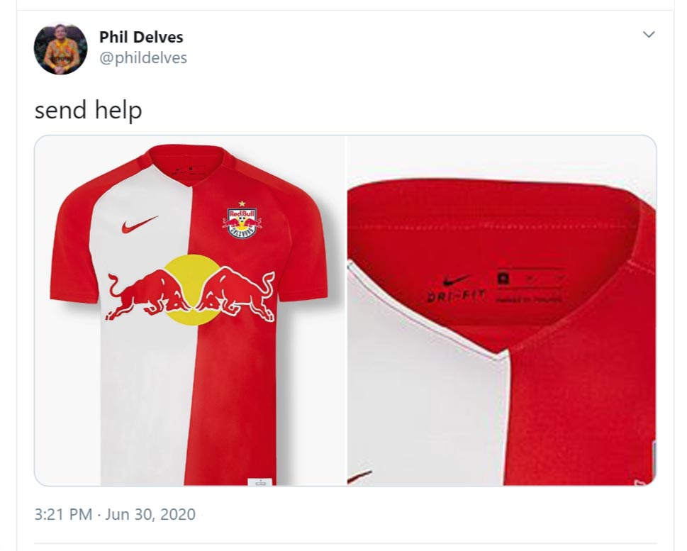 Nightmare Collar Red Bull Salzburg 20 21 Home Kit Released Footy Headlines