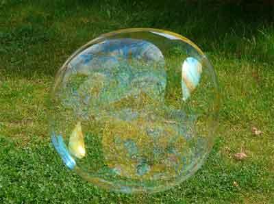 bagaimana cara membuat cairan untuk gelembung sabun yang besar, kuat, banyak, tahan lama, awet tanpa bahan kimia sama sekali