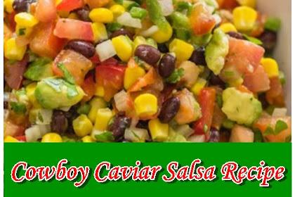 Cowboy Caviar Salsa Recipe