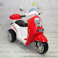 Motor Mainan Aki Junior TR1401 Ready 2 Go Red