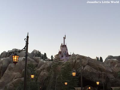 Fantasyland at dusk
