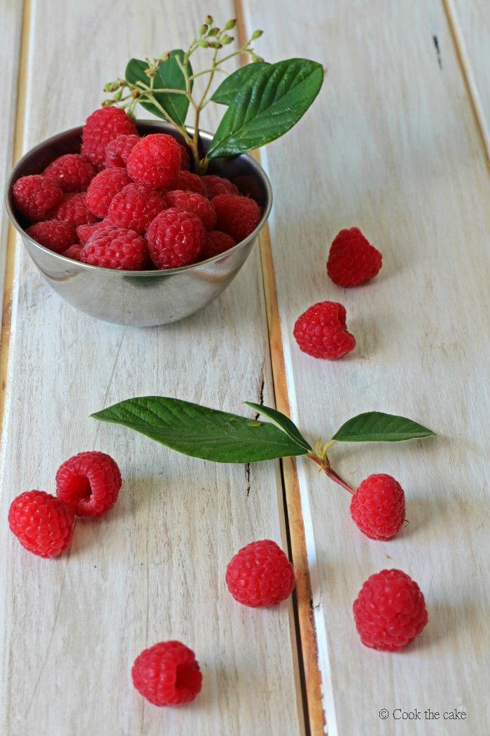 frambuesas, raspberries