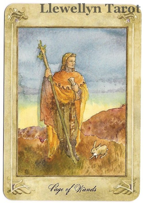 Tarot Notes: Past Life Relationship Reading: Llewellyn Tarot