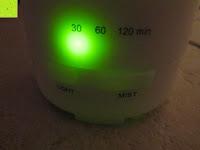 30 min: Aiho 50ml USB Auto Aroma Diffuser Mini AD-P3 Aromatherapie Ätherische Öl Ultraschall Luftbefeuchter Humidifier