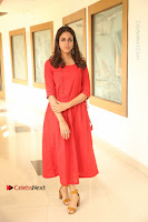 Actress Lavanya Tripathi Latest Pos in Red Dress at Radha Movie Success Meet .COM 0001.JPG