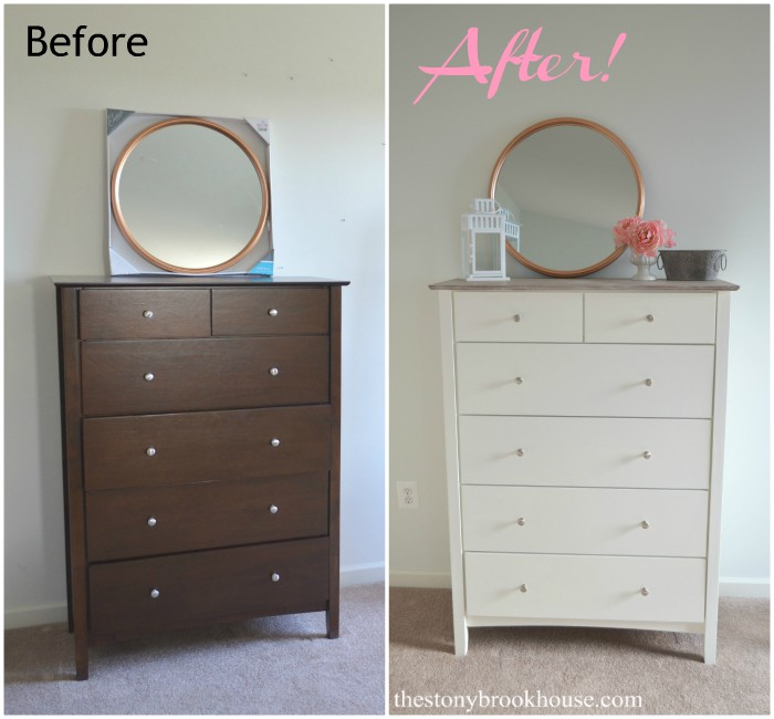 Bedroom Dresser Before And After