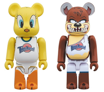 Space Jam Looney Tunes Be@rbrick Vinyl Figures by Medicom Toy