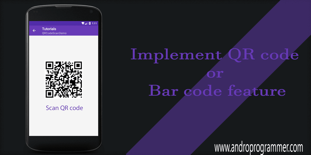 Detect QR Code Using Google Play Service Library ~ AndroProgrammer