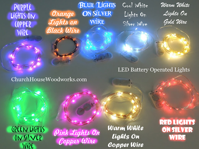 LED Battery Operated String Lights Decorative Party Lights