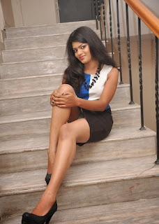Actress Akila Stills in Short Dress   (22)