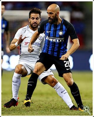 Borja Valero Inter Fàbregas Chelsea