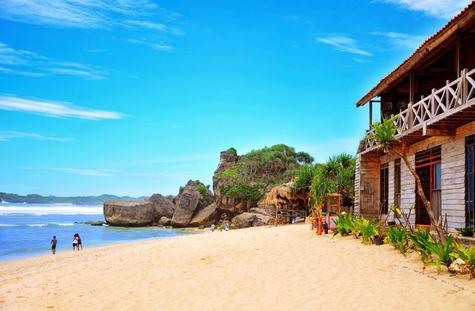 Keindahan Pantai Indrayanti Yang Populer Di Kalangan Wisatawan Jogja Dan Sekitarnya
