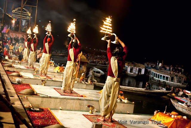 3 Night /4 days trip for Varanasi- Allahabad Tour with Ganga Aarti– Morning Boat Ride-- Temple Tour- Sarnath – Triveni Sangam    Day1 : Varanasi Arrivals + Ganga Aarti  Pickup from Airport/Railway station and check in to Hotel.   At evening, get ready to experience one of the most memorable moments of your life, as you will be taken to River Ganges. Enjoy Ganga Aarti. Get a glimpse of the spiritualism at the Ganga Ghats (river front).Can enjoy the Ganga Arti on Boat (optional and by own cost). Night stay at Hotel in Varanasi.    Summary :  1. Ganga Aarti    Day2 : Varanasi – Morning Boat Ride – Sarnath (15 KM 0.5 hr) - Temple Tour  Early morning, we will be taken for a boat ride on the Ganges. It is a mystical and spiritual experience as you watch people offering water to the Sun God and devotees taking holy dip in the Ganges. We will visit all the famous Ghats of Varanasi via boat. Latter visit the most religious Kashi Vishwanath temple, Annapurna Temple, the Bharat Mata temple, Sankat Mochan(Hanuman temple) , Manas Mandir, BHU. Come back to hotel for breakfast.    Latter in non, we will be taken for an excursion to Sarnath. Sarnath is the place where Buddha delivered his first sermon to his disciples. The attractions at Sarnath are the Buddha temples, the Dhamekha stupa, Chaukhandi stupa and the archaeological museum.    In evening have leisure time for shopping in Varanasi(optional and by your own). Night stay at Hotel in Varanasi.    Summary :  1. Morning boat ride on the River Ganges.  2. Vishwanath temple, Annpurna Temple  3. Bharat Mata Mandir, Sankat Mochan, Manas Mandir, BHU  4. Sarnath (Dhamekh Stupa, the Chaukhandi Stupa and the Archaeological museum)                    Day3 : Varanasi – Allahabad (150 KM, 3 hrs) – Triveni Sangam- Varanasi (150 KM, 3 hrs)  Early morning after breakfast, drive to Allahabad . Enjoy the holy bath in river Ganga and in Sangam (Meeting point) of the three rivers - Ganga, Yamuna & Saraswati. Sangam - overlooked by the eastern ramparts of the fort, wide flood plains and muddy banks protrude towards the sacred Sangam. At the point at which the brown Ganges meets the Greenish Yamuna, pandas (priests) perch on small platforms to perform puja and assist the devout in their ritual ablutions in the shallow waters. Beaches and ghats are littered and various holy rituals will be seen everywhere near ghats.    Latter we will cover the other spot in Allahabad like Hanuman Temple, Anand Bhavan - one of the country's best-running museums in memory of Jawahar Lal Nehru. Swaraj Bhawan -the house where the former Prime Minister of India Mrs. Indira Gandhi was born. Night stay at Hotel In Varanasi.    Note : Have option to come back to Varanasi by boat (Sailing tour) << click here for more detail >>    Summary :  1. Sangan bath   2. Hanuman Temple   3. Anand Bhavan, Swaraj Bhavan    Day4: Varanasi - Drop to Airport/Railway station  After Breakfast, have some leisure time. Latter we drive for airport/Railway Station with pleasant memory of holy trip.    Imagica Ticket, Ticket booking in ahmedabad, imagica Ticket, WaterPark Ticket, Imagica, imagica ticket at best price, akshar infocom, TRAVEL AGENT IN GHATLODIA, travel agent in science city, travel agent in sola, travel agent in ahmedabad, air ticket booking center in ahmedabad, air ticket chip, hotel booking, tour package in ahmedabad, 9427703236, 8000999660, akshar infocom International Air Tickets || Domestic Air Tickets || Cruise Booking || International& Domestic Packages || Hotel Booking World Wide ||  Visa Services || Passport Services || Overseas Travel Insurance || Railway Ticket || Bus Ticket ||  Car Rental || Foreign Exchange || Western Union & Transfast Money Transfer Services & More...  Ground Floor-11, Vishwas Shopping Center Part-1, R.C.Technical Road, Ghatlodia, Ahmedabad - 380061. Contact No.: 8000999660, 9427703236 E-mail : travel@aksharonline.com, info@aksharonline.com