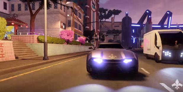 Agents of Mayhem presenta su flota de vehículos de lujo