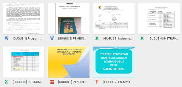 Panduan Pengelolaan Gugus Sekolah TK SD MI - Download
