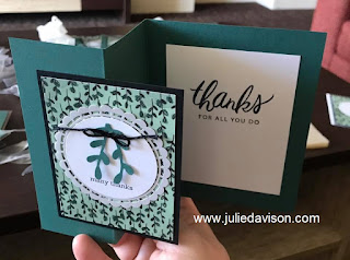 Stampin' Up! Share What You Love Z Fold Card ~ www.juliedavison.com