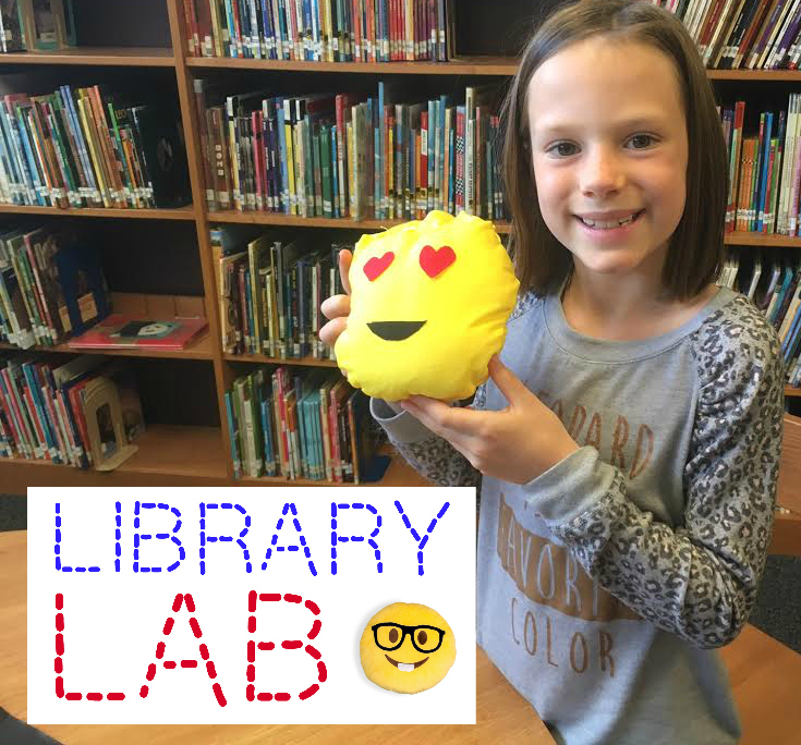 Forest North Library: LIBRARY LAB: Emoji Pillows