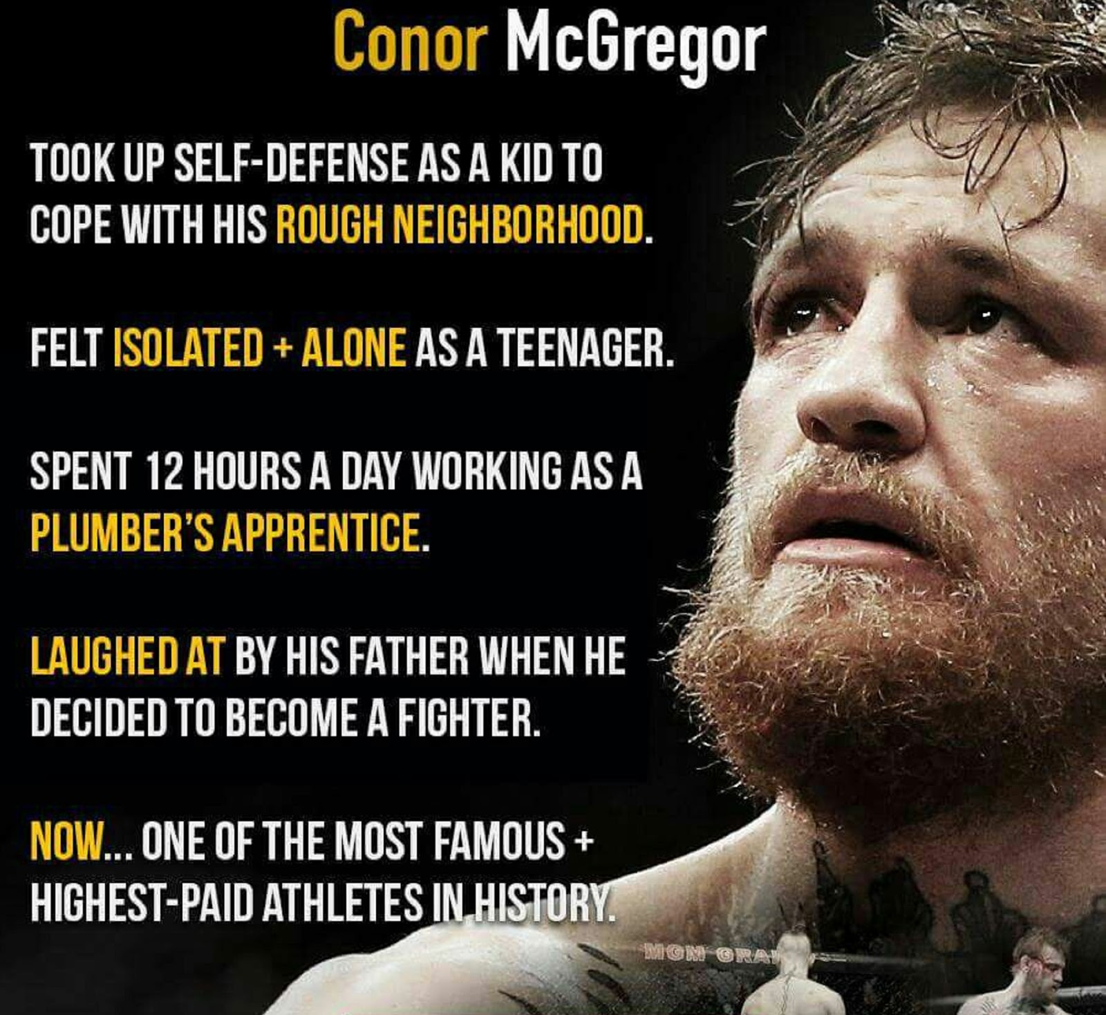 CONOR MCGREGOR 6